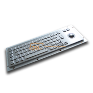 Metal Keyboard with Trackball for Self-service Kiosk