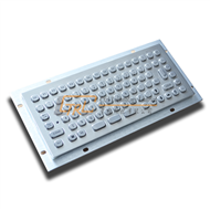 Small keyboard made of stainless steel